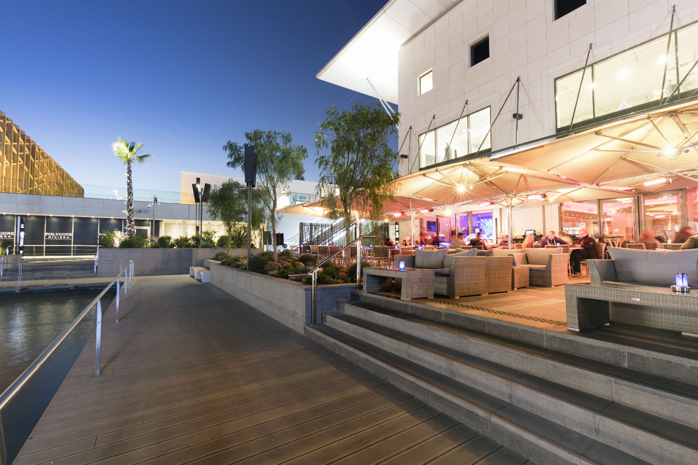 Polygone Riviera Restaurant La Terrasse Studio 614 Agence